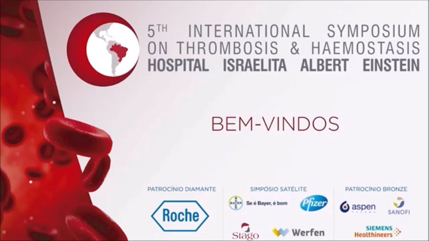 Videos Conferencias del 5to Simposio Internacional de Trombosis y Hemostasia 2018 - San Pablo