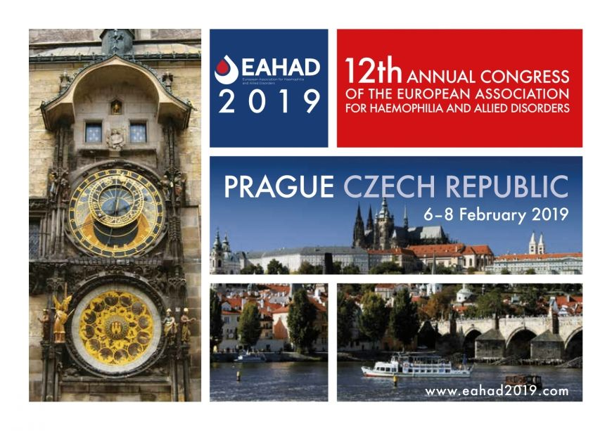 12th Annual Congress of the European Association for Haemophilia and Allied Disorders 2019