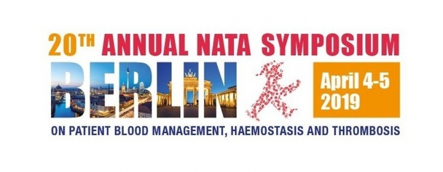 20th Annual NATA Symposium, Berlin, April 4-5, 2019